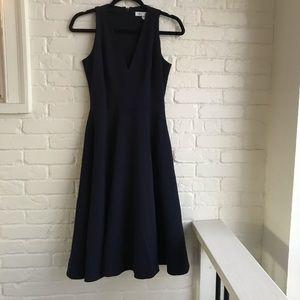 Dress the population Catalini Blue Dress Small